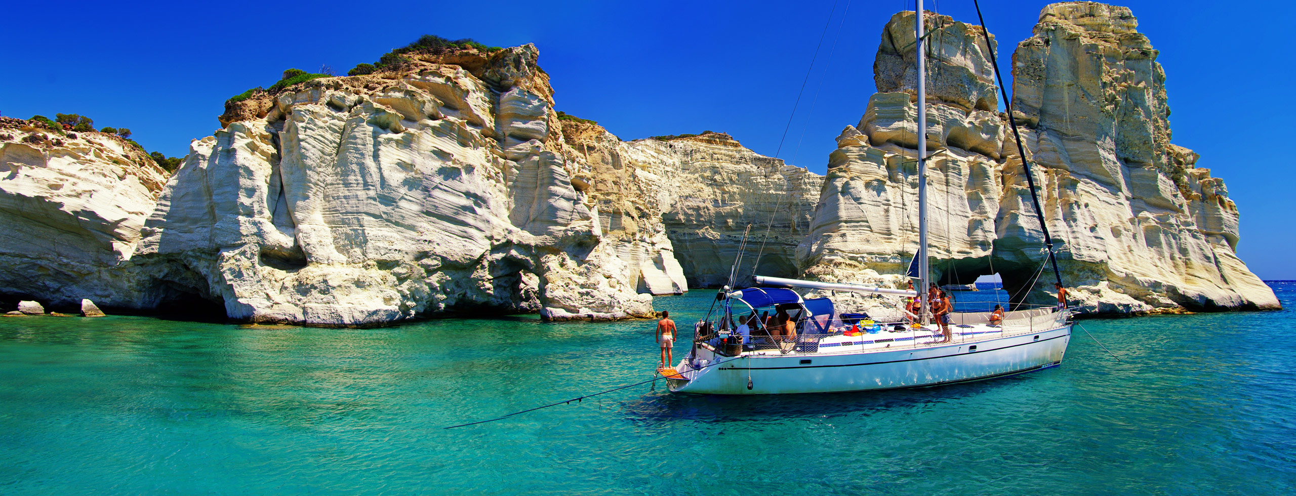Greek Islands Sailing Vacation Yacht Charter Greece Sailing Cruises - Greek island cruises